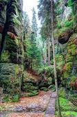 Weathered canyon — Stock Photo