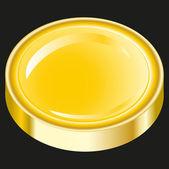 Przełącznik złota — Wektor stockowy