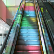 Stock Photo: Escalator at Montreal Convention Centre