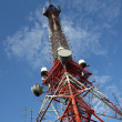 Broadcast and Communications Tower — Stock Photo
