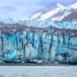 Stock Photo: Tidal glacier face in Glacier Bay National Park.