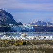 Stock Photo: View to Margerie and Grand Pacific glaciers from Tarr inlet in