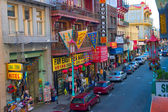 San Francisco China Town — 图库照片