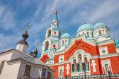 Russian Orthodox christian church on Valaam Island, Ladoga Lake — Stock Photo