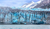 Tidal glacier face in Glacier Bay National Park. — Stock Photo