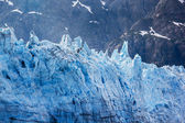 Tidal glacier face in Glacier Bay National Park. — 图库照片