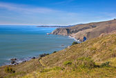 California coastline in Tamalpais state park, Marin county — Stock Photo