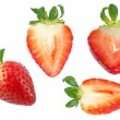 Strawberry disigner set. — Stock Photo