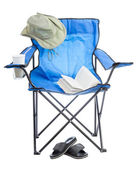 Camp chair. — Stock Photo