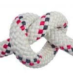 Heart-shaped knot. — Stock Photo