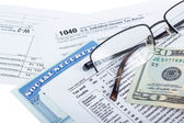 Tax preparation — Stock Photo