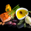 Mediterraneomega-3 diet. — Stock Photo #30878941