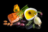 Mediterranean omega-3 diet. — Stock Photo