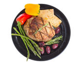 Atkins dieta śródziemnomorska. — Zdjęcie stockowe