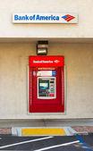 SACRAMENTO, USA - SEPTEMBER 5: Bank of America ATM machine on Se — Stock Photo