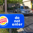 SACRAMENTO, US- SEPTEMBER 13: Burger King drive through on Sep — Stock Photo #31591885