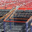 Stockfoto: Shopping cart background.