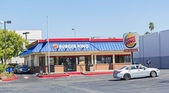 Sacramento, verenigde staten - 19 september: hamburger king locatie op septembe — Stockfoto