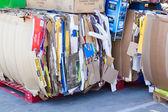 SACRAMENTO, USA - SEPTEMBER 19: Cardboard trash on September 19, — Stock Photo