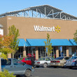 SACRAMENTO, USA - SEPTEMBER 23: Walmart store on September 23, 2 — Стоковая фотография