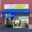 SACRAMENTO, USA - SEPTEMBER 23:  Subway store on September 23, 2 — Stock Photo
