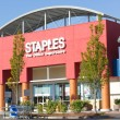 SACRAMENTO, US- SEPTEMBER 23: Staples store on September 23, — Stock Photo #32877671
