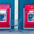 SACRAMENTO, USA - SEPTEMBER 23: Bank of America ATMs on Septembe — Стоковая фотография