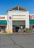 SACRAMENTO, USA - SEPTEMBER 23: Radioshack store on September 23 — Stock Photo