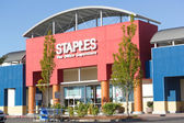 SACRAMENTO, USA - SEPTEMBER 23: Staples store on September 23, — 图库照片