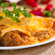 Southwest beef enchilada. — Stock Photo #34278769