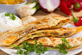 Southwest marha quesadila. — Stockfoto