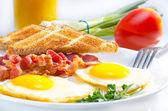 Continental breakfast. — Stock Photo