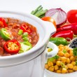Beans cooked in slow cooker. — Stock Photo #34792223