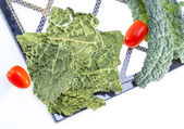 Kale chips. — Stock Photo