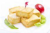 Smažené tofu. — Stock fotografie