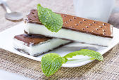 Ice cream sandwich — Stock Photo
