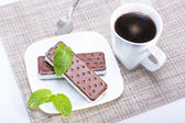 Sándwich de helado — Foto de Stock