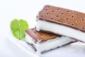 アイス クリーム サンドイッチ — ストック写真