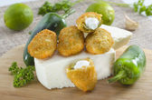 Jalapeno poppers — Stock Photo