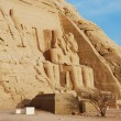 Abu Simbel temple — Stock Photo