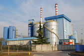 Incineration plant — Stock Photo