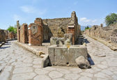 Pompeii - Italy — Stock Photo