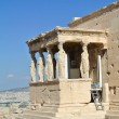Caryatid Porch of Erechtheum — Stock Photo