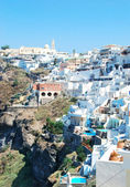 Fira village — Stockfoto