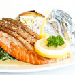 Fish meal — Stock Photo #21305137