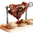 Stock Photo: Pork knuckle
