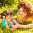 Royalty-Free Stock Photo: Mother and daughter outdoors