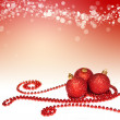 Christmas decoration background — 图库照片