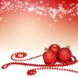 Vánoční dekorace pozadí — Stock fotografie