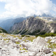 Beautiful mountain panorama - alps - high resolution — Stock Photo